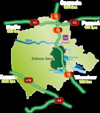Mapa AZ